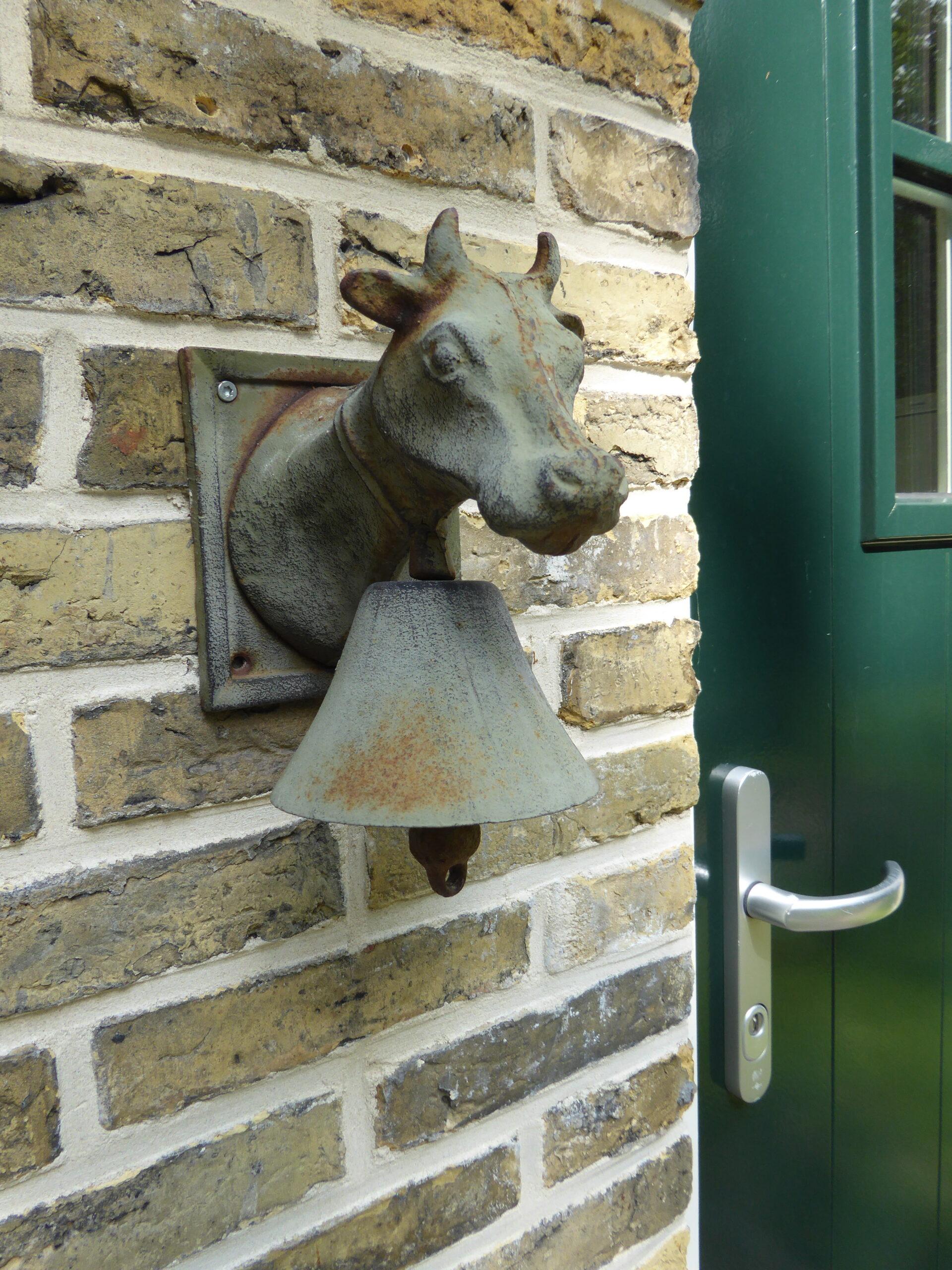 foto deurbel koe